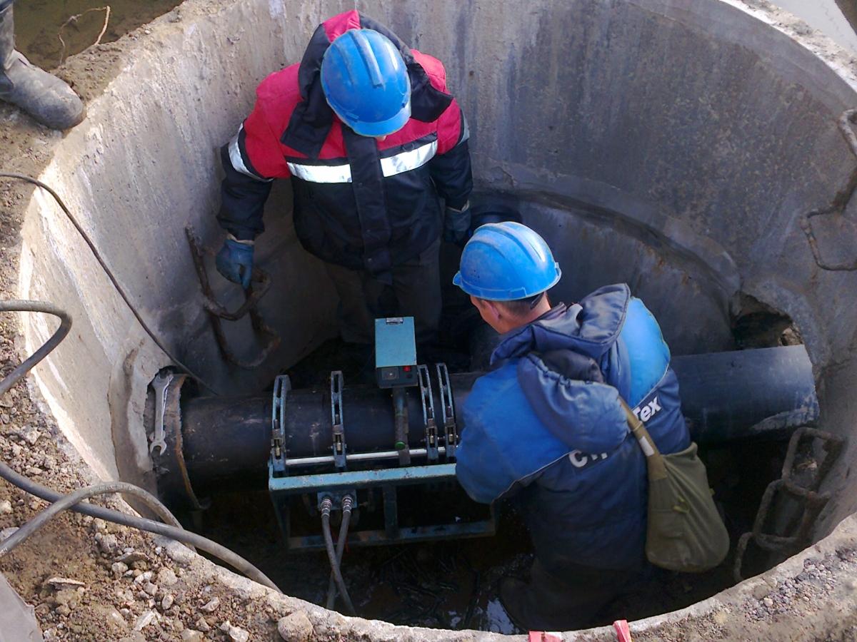 наполнение и опорожнение напорного трубопровода